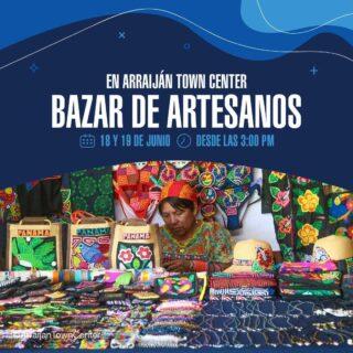 Este viernes 18 y sábado 19 de junio, te esperamos en el gran bazar de artesanos que tendremos en la Plaza Central. V  Te esperamos esde las 3:00 pm para que disfrutes de la diversidad de exhibición de artesanías, bisutería y muchas sorpresas más.📿  Encuentra en #ArraijánTownCenter un espacio seguro con todos los protocolos de Bioseguridad.  #ArraijánTownCenter #Panamá #DondeDebesEstar #Arraiján #Panamá #CentroComercial #Bazar #Artesanos #Emprendedores