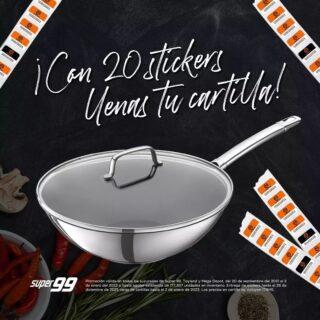 ¡Es muy fácil llenar tus cartillas! 🙀  Por la compra mínima de B/.7.00 recibe un sticker y por cada B/.3.00 en marcas participantes recibe un sticker adicional.  Y tú ¿Ya tienes tus primeros sets de sartenes y cuchillos #MasterChef? 🥰 @super99panama #Super99 #TeConviene #Masterchef99  Promoción válida en todas las sucursales de Super 99 del 20 de septiembre del 2021 al 2 de enero del 2022. Entrega de stickers hasta el 26 de diciembre de 2021. Los precios en cartilla no incluyen ITBMS. Para más información ingresa a www.promosuper99.com<http://www.promosuper99.com>