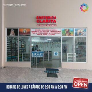 En Arraiján Town Center encuentras a Esotérica Clarita 🔮 ubicada en el local B2-09.  Para más información acerca de sus productos y servicios puedes contactarlos al 255-5803 o a el número de celular 6614-9162. 📿  #SeguroParaTi#Panamá#DondeDebesEstar #Arraiján#CentroComercial#ArraijánTownCenter