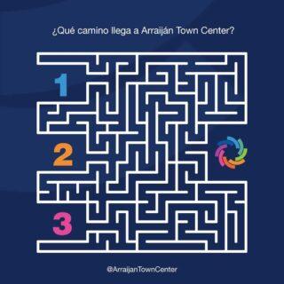 🌀 Despedimos la semana con un poco de diversión 🌀  ¿Qué camino tomarías tu para llegar a Arraiján Town Center? 😲  Coméntanos la respuesta correcta, ¿será el 1, 2 o 3? 🤔  #SeguroParaTi#Panamá#DondeDebesEstar #Arraiján#CentroComercial#ArraijánTownCenter